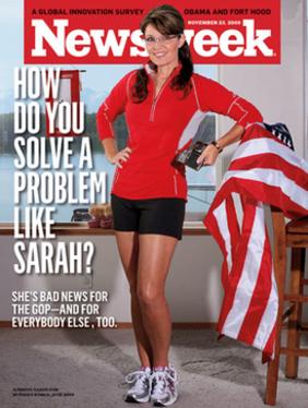 20091123 Newsweek Palin Cover