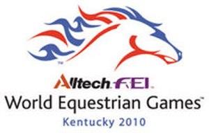2010 FEI World Equestrian Games - Image: 2010 FEI WEG logo