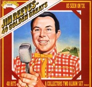 40 Golden Greats (Jim Reeves album) - Image: 40 Golden Greats
