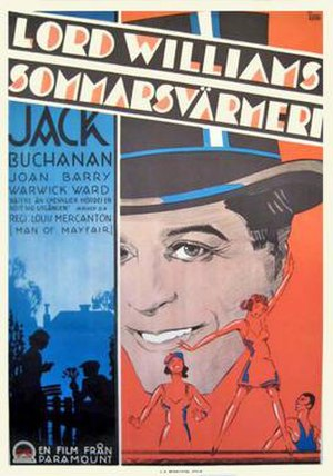 A Man of Mayfair - Swedish poster