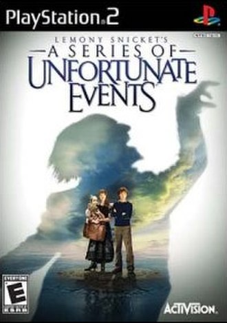 Lemony Snicket's A Series of Unfortunate Events (video game) - North American cover art for PS2