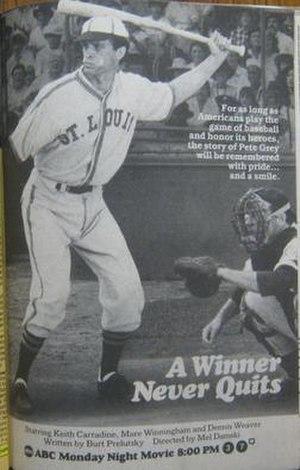 A Winner Never Quits - Print advertisement