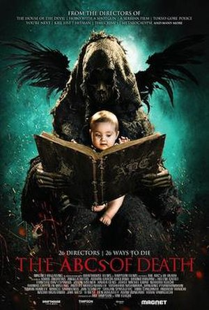 The ABCs of Death - Theatrical release poster