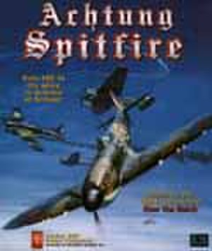 Achtung Spitfire! - Cover art