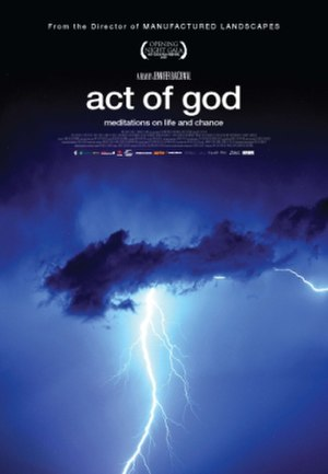 Act of God (film) - Theatrical release poster