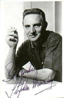 Stephen Murray (actor) British actor