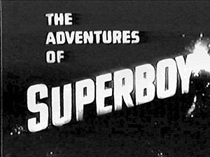 The Adventures of Superboy - Image: Adventures of Superboy