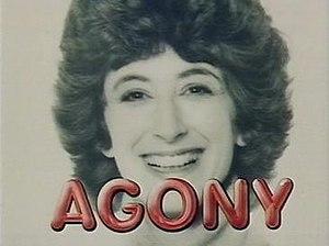 Agony (TV series) - Agony main title screen featuring Maureen Lipman as Jane Lucas