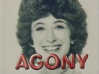 <i>Agony</i> (TV series) British television series