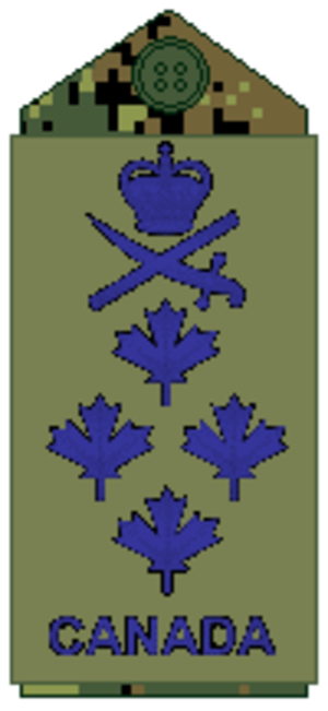 General (Canada) - Image: Air Force olive Gen