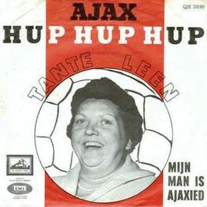 Ajax Hup Hup Hup - Image: Ajax hup hup hup, Mijn man is Ajaxied (cover)