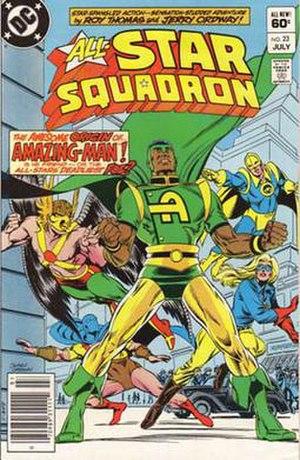 Amazing-Man (DC Comics) - Image: All Star Squadron 23
