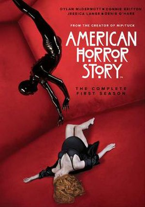 American Horror Story: Murder House - Promotional poster and home media cover art