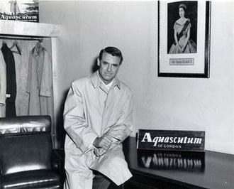 Aquascutum - Cary Grant wearing Aquascutum