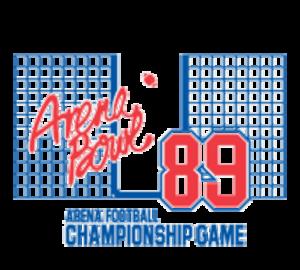ArenaBowl III - Image: Arenabowl 1989