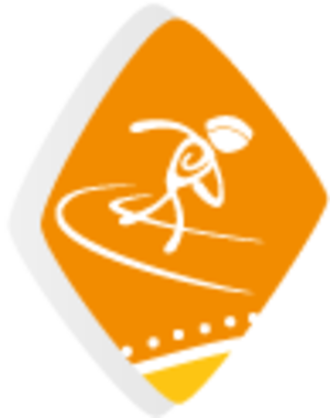 Athletics at the 2014 Central American and Caribbean Games - Image: Athletics at the 2014 Central American and Caribbean Games logo