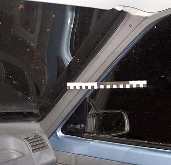 Automobile good design A-pillar