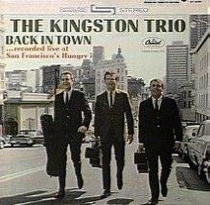Back in Town (The Kingston Trio album) - Image: Backintownkingstontr io