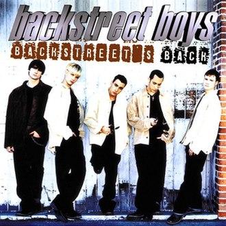 Backstreet's Back - Image: Backstreet's Back cover