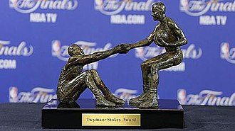Twyman–Stokes Teammate of the Year Award - The Twyman-Stokes Teammate of the Year trophy