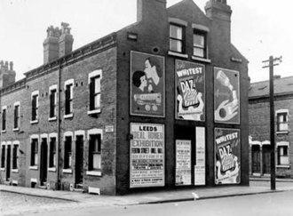 Harehills - Bayswater Avenue in 1953