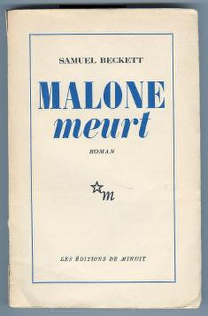 Malone Dies - First edition (French)