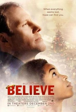 Believe (2016 film) - Theatrical release poster