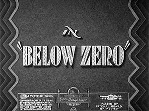 Below Zero (1930 film) - Image: Belowzerotitlecard