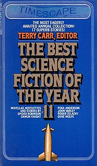<i>The Best Science Fiction of the Year 11</i> book by Terry Carr