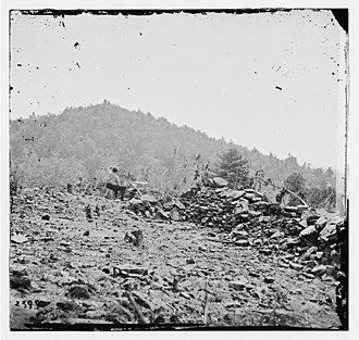 Big Round Top - Image: Big Round Top (photo by Timothy H. O'Sullivan, 1863)