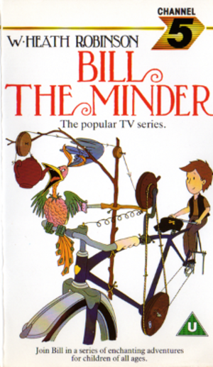 Bill the Minder - VHS cover 1987.