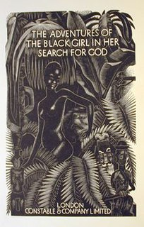 <i>The Adventures of the Black Girl in Her Search for God</i> book by George Bernard Shaw