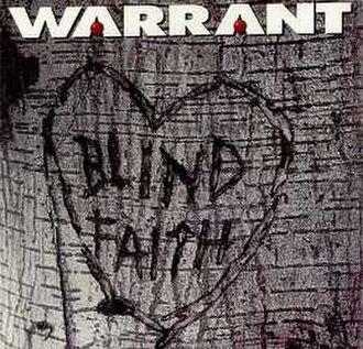 Blind Faith (Warrant song) - Image: Blindfaithsingle