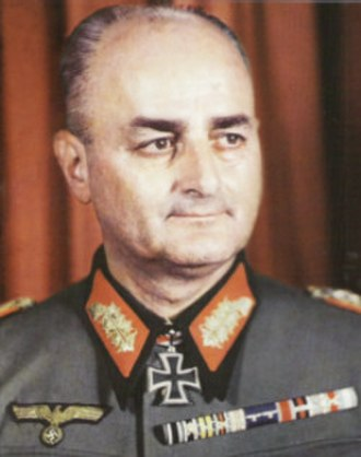Günther Blumentritt - General der Infanterie Günther Blumentritt