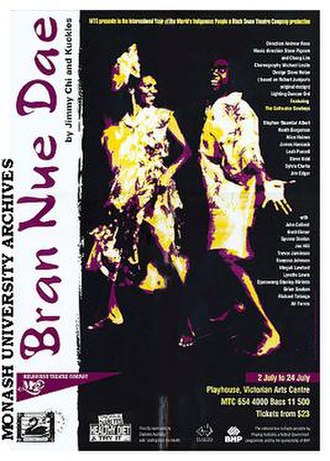 Bran Nue Dae - Poster of 1993 production in Melbourne