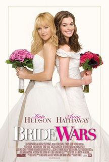 <i>Bride Wars</i> 2009 romantic comedy movie directed by Gary Winick