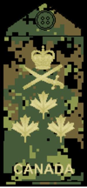 Lieutenant-general (Canada) - Image: CADPAT temperate L Gen