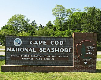 Cape Cod National Seashore - Image: CCNS Sign