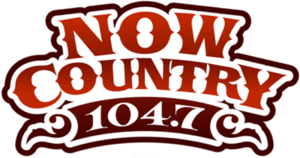 CIUR-FM - Image: CIUR Now Country 104.7 logo