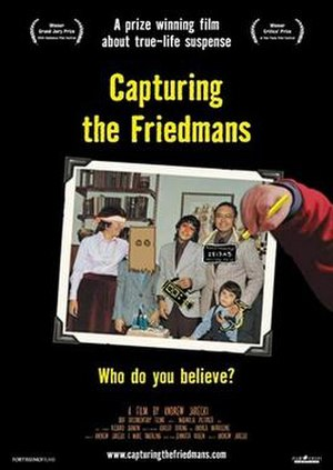Capturing the Friedmans - Image: Capturing the Friedmans poster