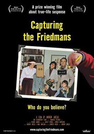 Capturing the Friedmans - Image: Capturing the Friedmans poster