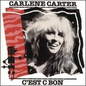 Barney Bubbles - The original UK LP sleeve of Carlene Carter's C'est C Bon designed by Barney Bubbles