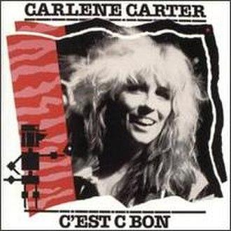Barney Bubbles - The original UK LP sleeve of Carlene Carter's C'est C Bon designed by Barney Bubbles