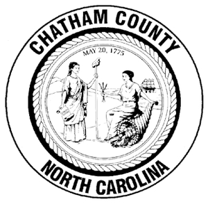 Chatham County, North Carolina - Image: Chathamcountyseal