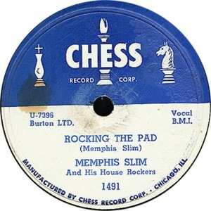 Chess Records - The Chess Records logo, as featured on a Memphis Slim single