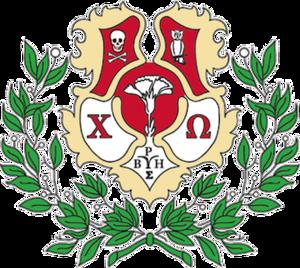 Chi Omega - Image: Chi Omega crest