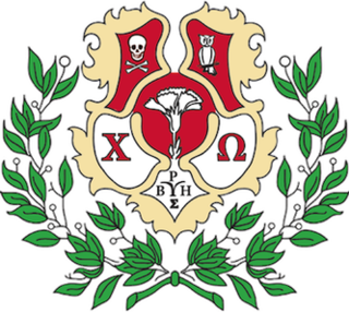 Chi Omega American womens fraternal organization / sorority
