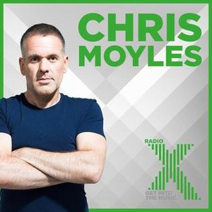 The Chris Moyles Show - Image: Chris Moyles Radio X promotional image