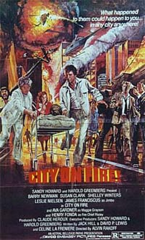 City on Fire (1979 film) - City on Fire movie poster.