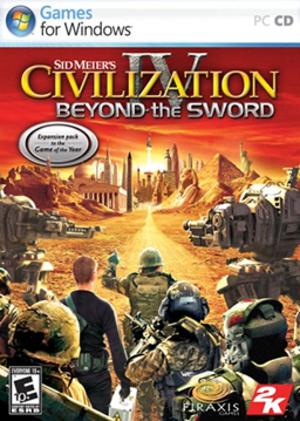 Civilization IV: Beyond the Sword - Image: Civilization IV Beyond the Sword Coverart